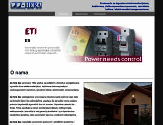 jj-hera.rs screenshot