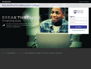 jjc.mylabsplus.com screenshot