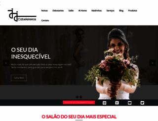 jjcabeleireiros.com.br screenshot