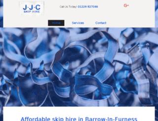 jjcskips.co.uk screenshot
