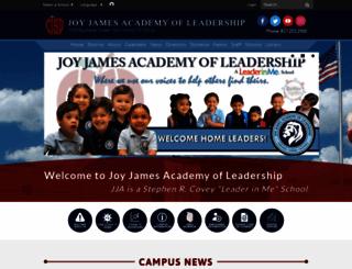jje.sharpschool.com screenshot