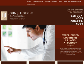 jjhopkinslaw.firmsitepreview.com screenshot