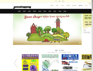 jjoonshop.com screenshot