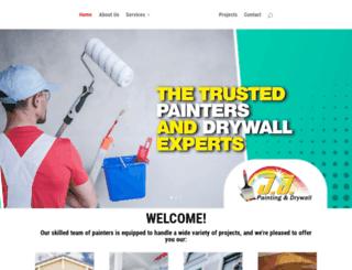 jjpaintinganddrywall.com screenshot