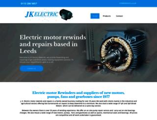 jk-electric.co.uk screenshot