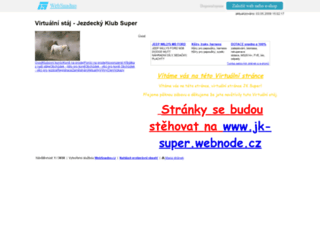 jk-super.wbs.cz screenshot