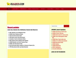 jkalerts.com screenshot