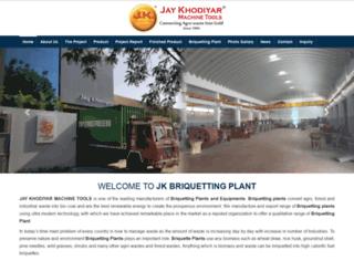 jkbriquettingplant.com screenshot
