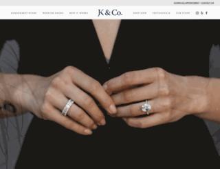 jkdiamondco.com screenshot