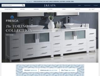 jkeats.com screenshot