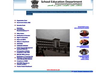 jkeducation.gov.in screenshot
