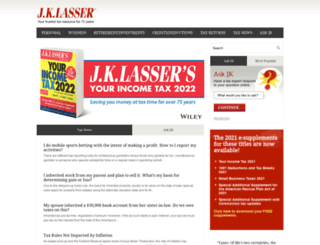 jklasser.com screenshot