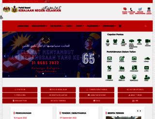 jkm.kelantan.gov.my screenshot