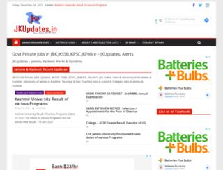 jkupdates.in screenshot