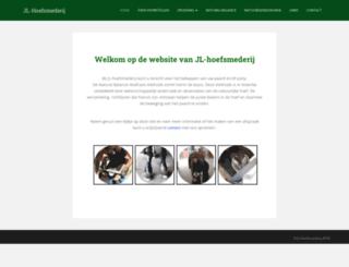 jl-hoefsmederij.nl screenshot