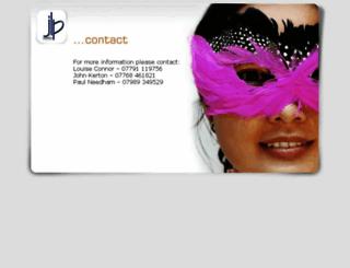 jlpevents.co.uk screenshot