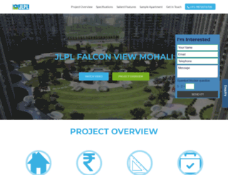 jlplfalconviewmohali.com screenshot