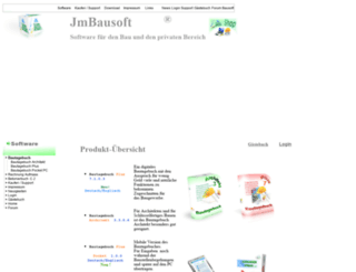 jm-bausoft.com screenshot