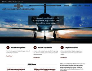 jmajets.com screenshot