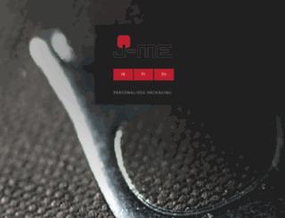 jme-packaging.be screenshot