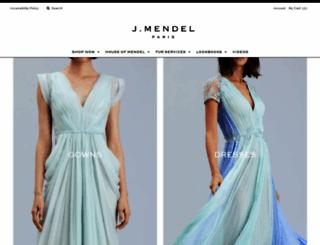 jmendel.com screenshot