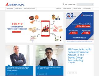 jmfinancial.in screenshot