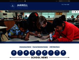 jms.jarrellisd.org screenshot