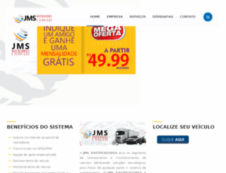 jmsrastreador.com screenshot