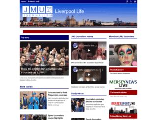 jmu-journalism.org.uk screenshot