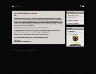 jmunlocks.com screenshot