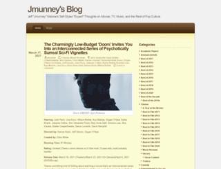 jmunney.wordpress.com screenshot