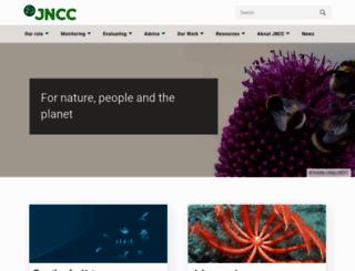 jncc.gov.uk screenshot