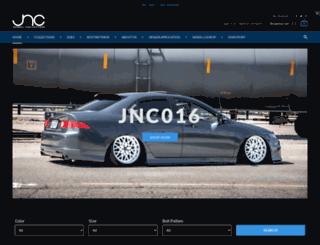jncwheels.com screenshot