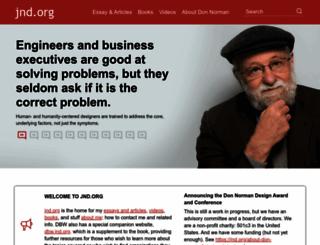 jnd.org screenshot