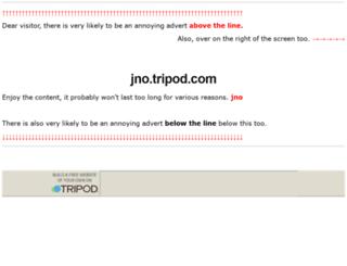 jno.tripod.com screenshot