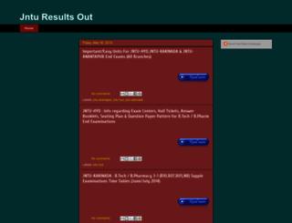 jnturesultsout.blogspot.in screenshot