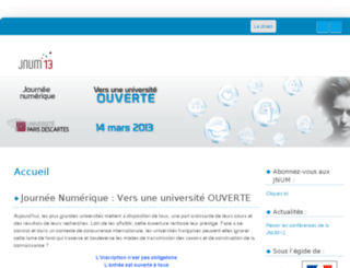 jnum13.parisdescartes.fr screenshot