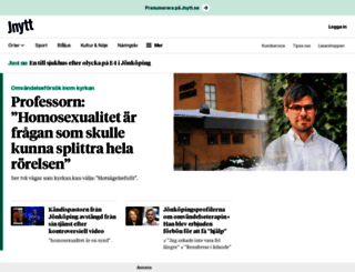jnytt.se screenshot