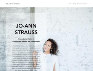 jo-annstrauss.com screenshot