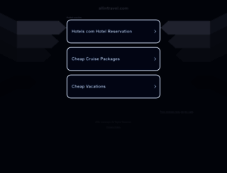 jo.allintravel.com screenshot