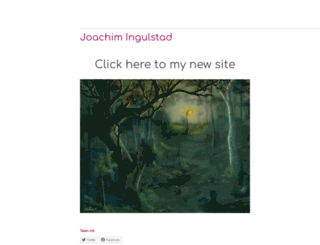 joachimingulstad.wordpress.com screenshot