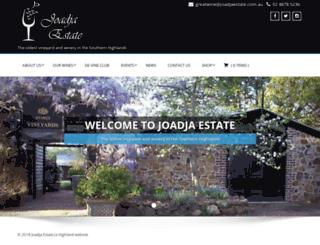 joadja.com screenshot