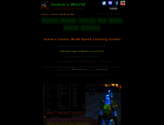 joanasworld.com screenshot