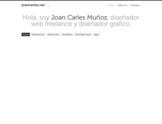 joancarles.net screenshot