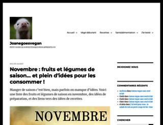 joanewallet.wordpress.com screenshot