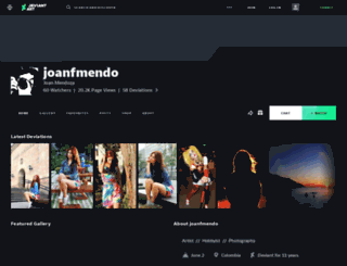 joanfmendo.deviantart.com screenshot