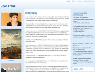 joanfrank.org screenshot