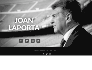 joanlaporta.cat screenshot