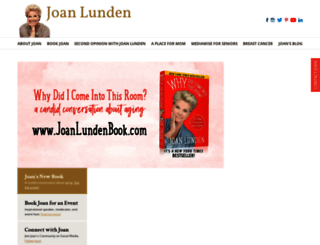 joanlunden.com screenshot