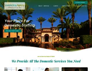 joannagrayagency.com screenshot